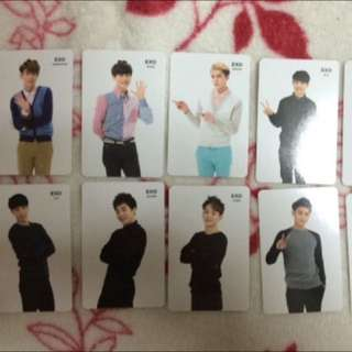 WTB : Exo Fortune Cookie Photocards