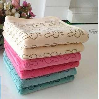 可愛小兔超吸水毛巾 尺寸:35*75cm