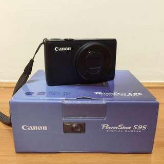 Canon S95 8~9成新