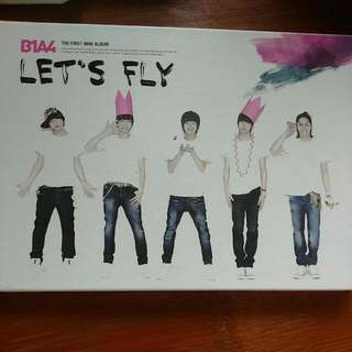 B1A4 韓壓專輯  Let's Fly