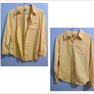 Queen Shop黃襯衫