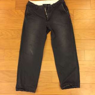 日本潮流品牌Wtaps 水洗工作褲 Size M