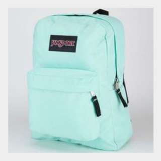 Looking For Mint Blue Jansport With Black Backing