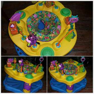 ExerSaucer: Infant and Baby Bouncer ; And Play Activity