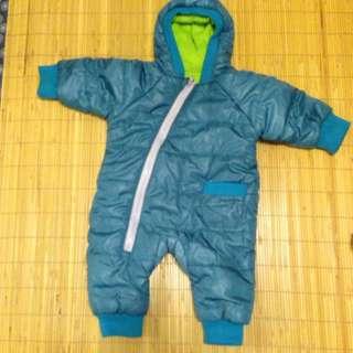 防風連身衣 80碼 (非常保暖)