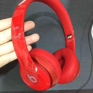 Beats Solo2 紅