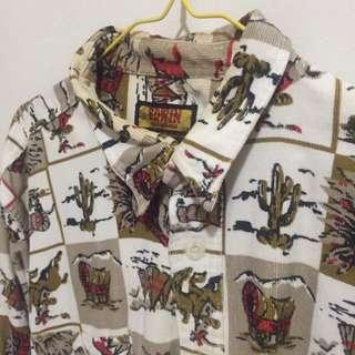 含運仙人掌襯衫