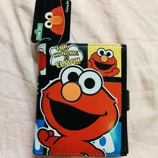 Elmo可愛短夾