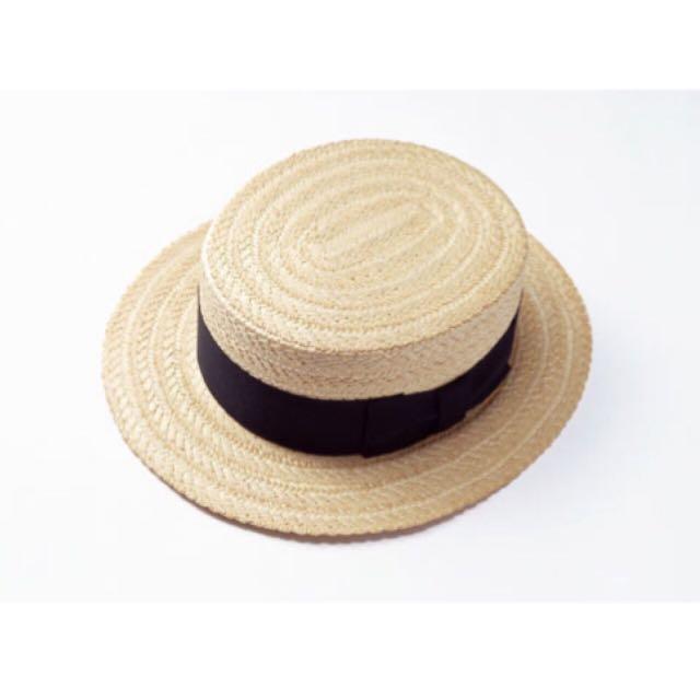 竹編織草帽(全新)$100