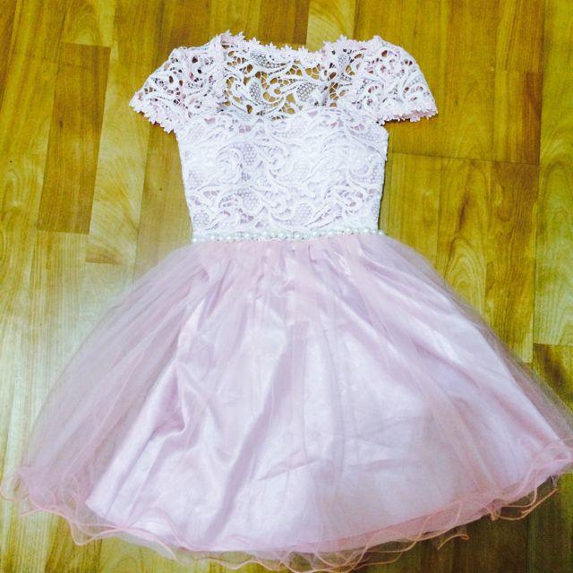 粉色小洋裝/小禮服
