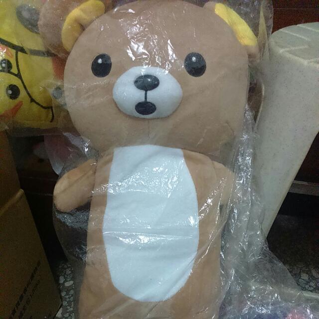 拉拉熊抱枕