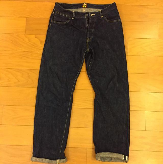 日本潮流品牌 Human made 直筒牛仔褲 Size M
