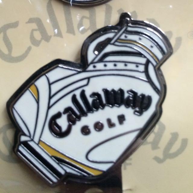 高爾夫球球標callaway clip marker