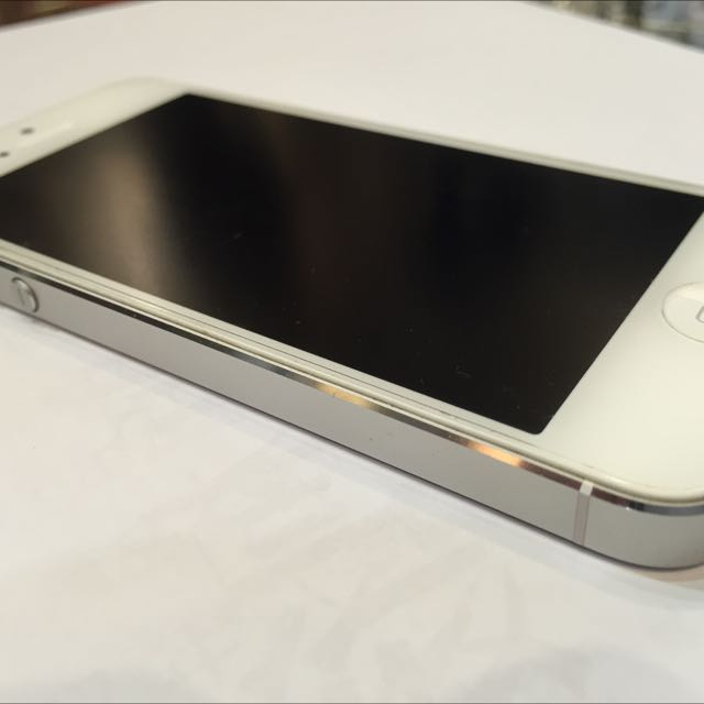 iPhone5 白色 32G ios 7.1.2