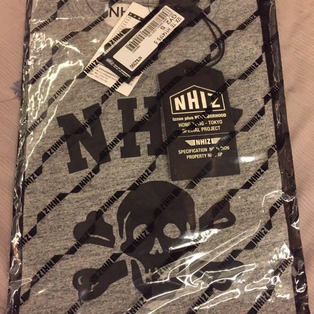 Izzue X Neighborhood 2015 灰色 T-shirt 全新台灣公司貨 Sz Small