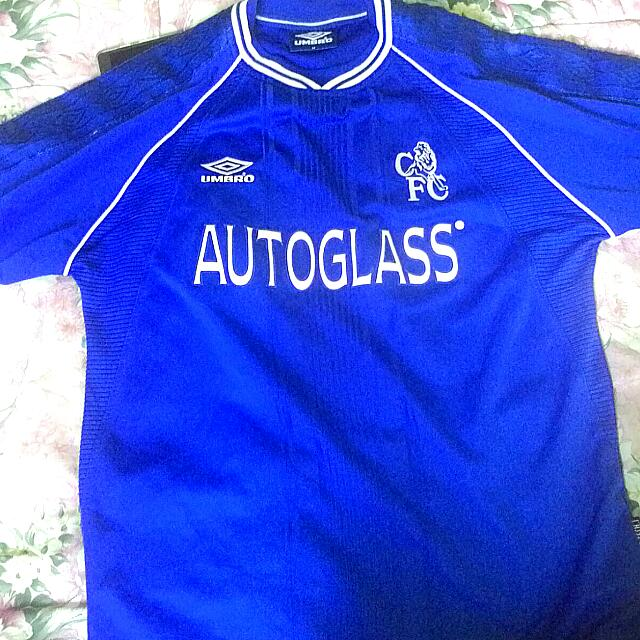 cheap for discount 45a2f d5305 Jersey CHELSEA Umbro Autoglass. Home Kit 1999/2001.