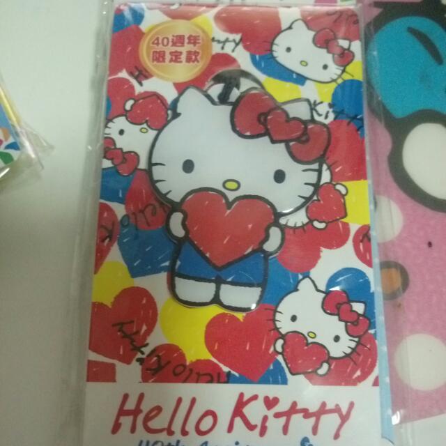 Kitty 悠遊卡 手機吊飾