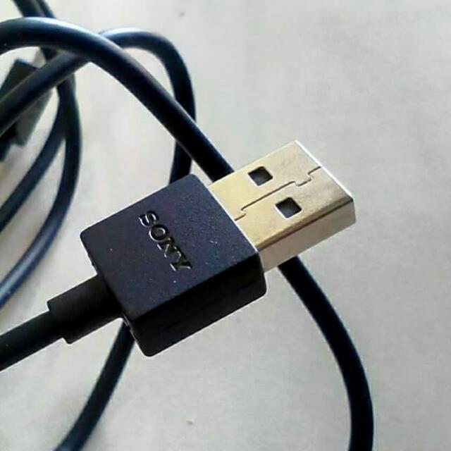 Kabel Cable Data Sony Xperia EC801 EC-801 EC803 EC-803 Original 100%