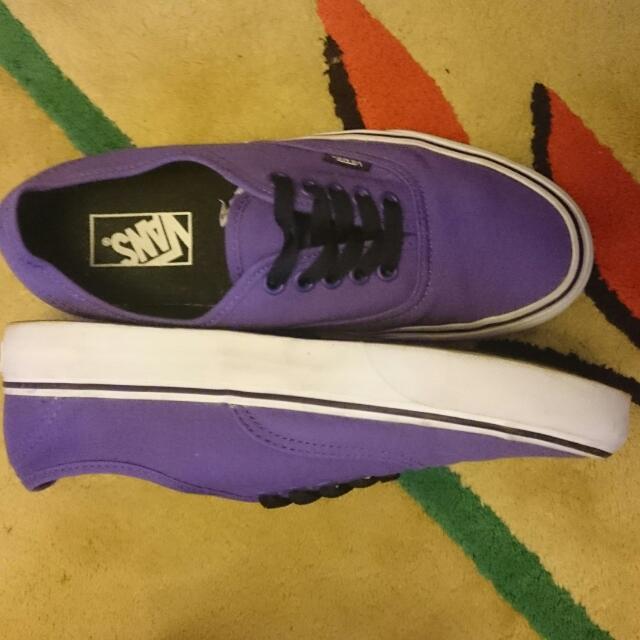Vans Shoes (Purple)  US Men's 7