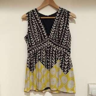 Anna Sui 100%絲質套裝