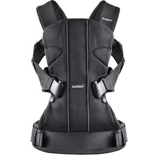 Baby Bjorn One Carrier Mesh - Black - ( FOR SALE )