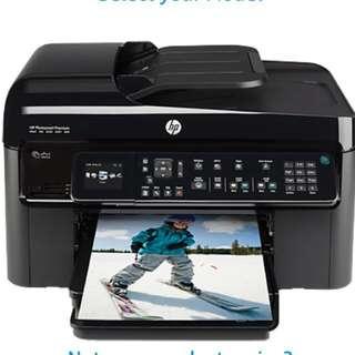 Hp Photosmart Premium Fax E-All-In-One C410 Series Printer