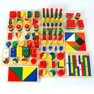 Montessori Package (14sets!) price down!