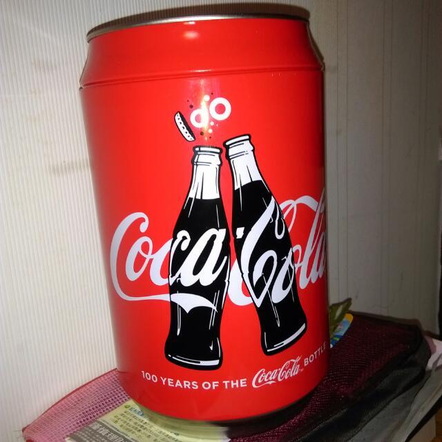 可口可樂曲線瓶100週年紀念罐