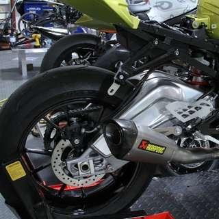 Akrapovic 51mm Shorty Exhaust