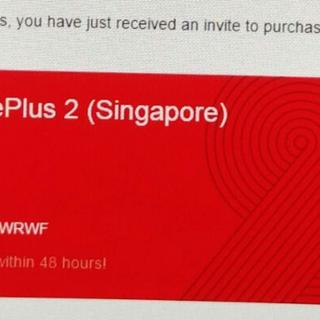 Onplus two Invite