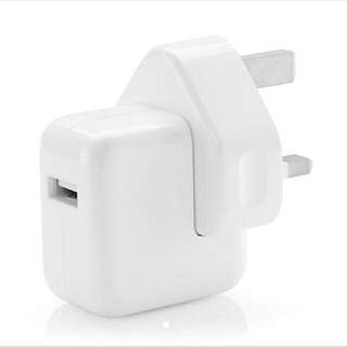 10W And 12W Authentic Apple Ipad Adapter Free Apple Sticker!