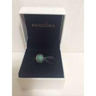 Pandora綠色鑽球