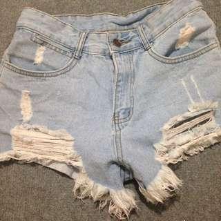 ~全新 牛仔短褲