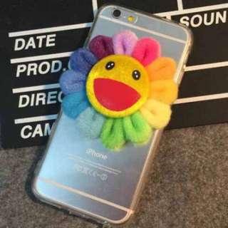 太陽花手機殼iPhone5/5s/6/6Plus軟殼