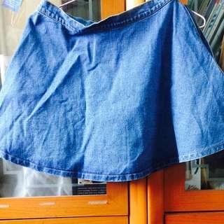 二手🗿牛仔短裙 A字裙