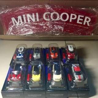 7-11 Mini Cooper 一組八款