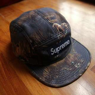 Supreme Dogs & Ducks Navy Camp Cap