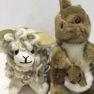 BN Sheep and Kangaroo
