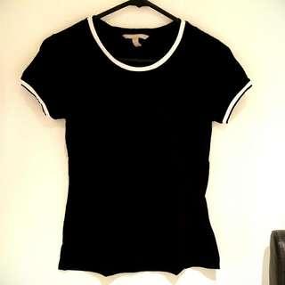 Banana Republic Black T-Shirt