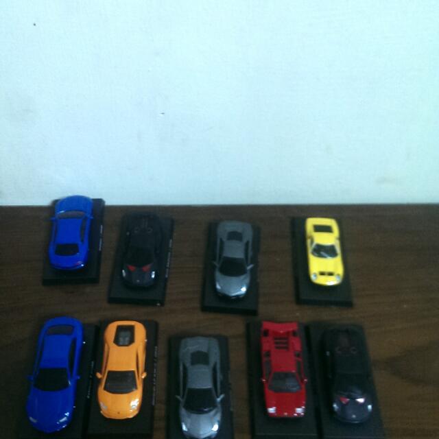7-11藍寶堅尼經典模型車 全部9台只賣300