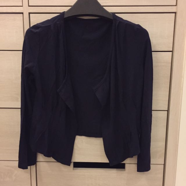 《二手》棉質7分袖小外套