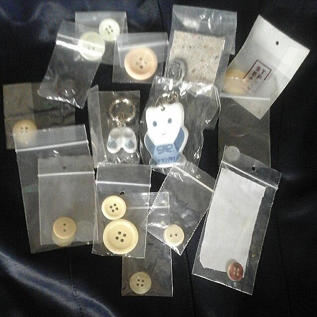 買扣子送日本瓷器鑰匙圈