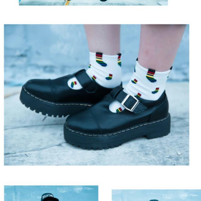 收) 圖片上這雙厚底包鞋