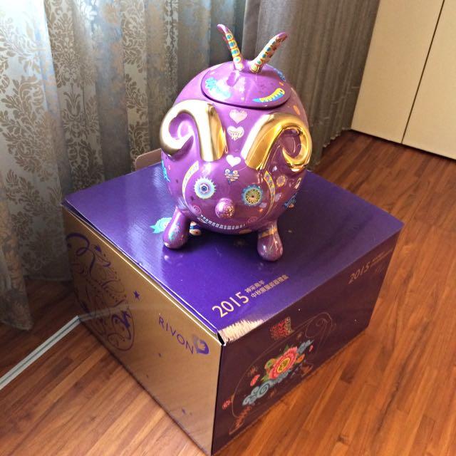 禮坊 神采飛羊瓷器禮盒