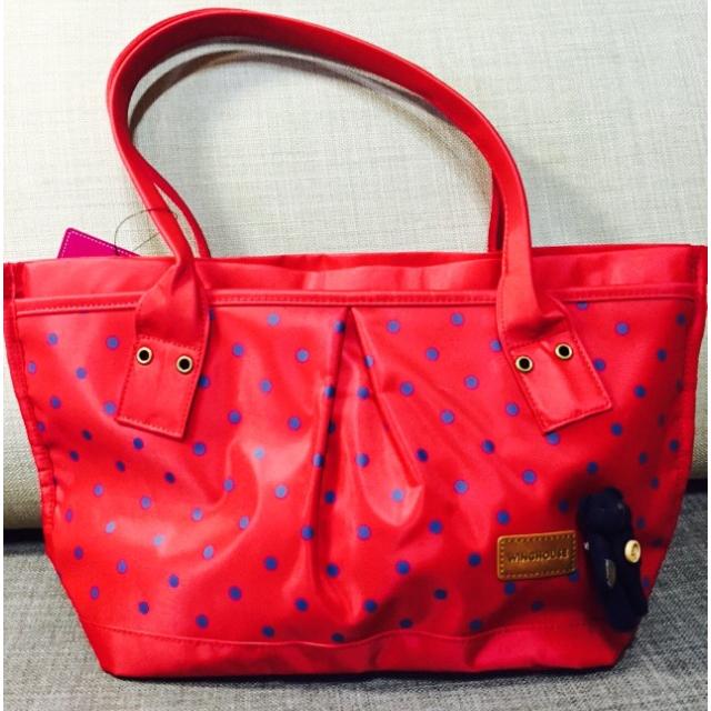 紅色手提包 全新