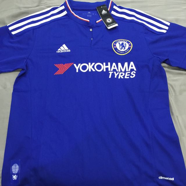 the best attitude 384e9 1ba95 Chelsea Home Replica Jersey 15/16 Size L