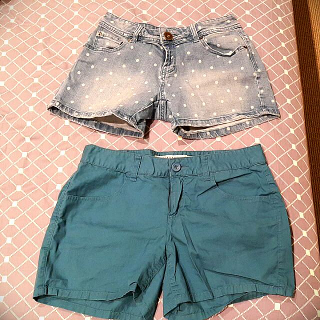 Cotton On & Giordano Shorts