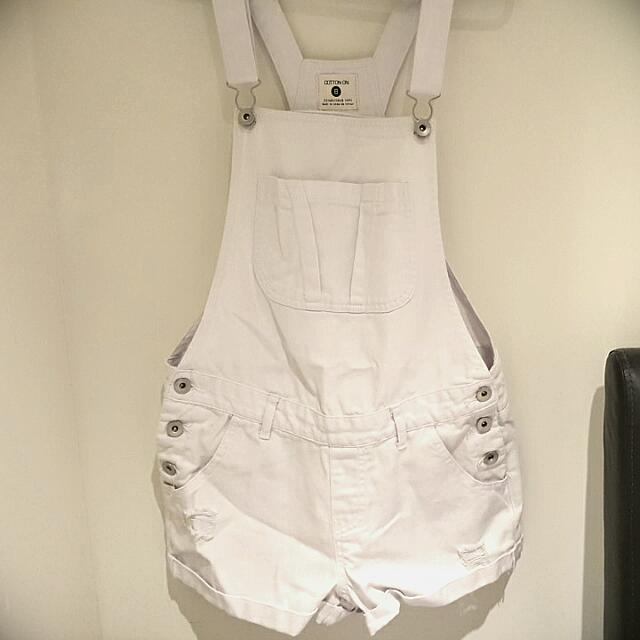 Cotton On White Playsuit
