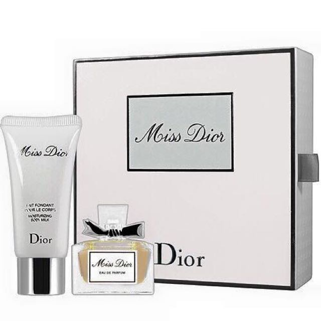 Dior 迪奧 MISS DIOR 香氛法式疊香禮盒組