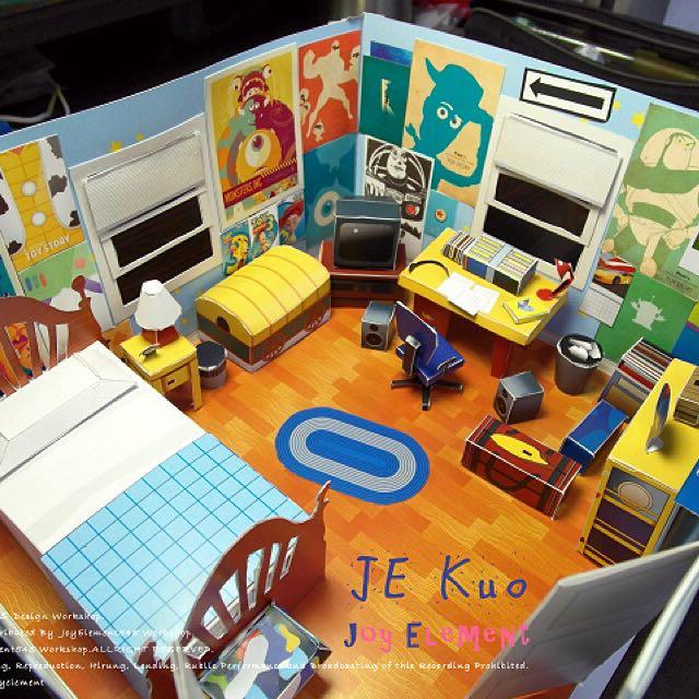 [有贈品]安迪的房間DIY模型 玩具總動員 Andy房間